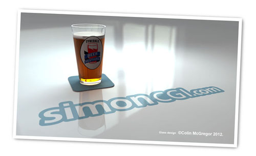 SimonCGI Beer Sponsor Tynedale Beer Festival 2012