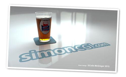 SimonCGI Beer Sponsor Tynedale Beer Festival 2012